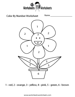 Worksheet. Color By Number Worksheets  Free Printable Worksheets for