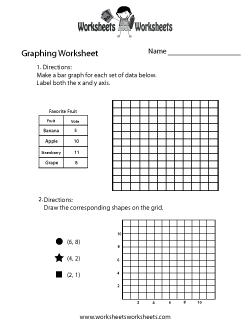 Printables Graphing Practice Worksheets graphing worksheets free printable for teachers and kids make a graph worksheet practice worksheet