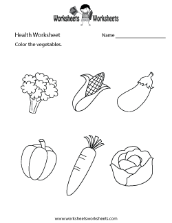 Simple Health Worksheet