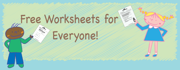 Worksheets Worksheets Banner