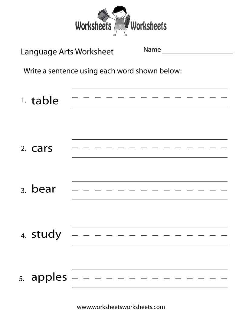 Worksheets 8th Grade Language Arts Worksheets Free language arts worksheets free printable for teachers fun worksheet