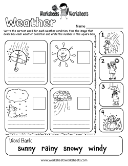 Weather Worksheets Free Printable Worksheets For Teachers And Kids