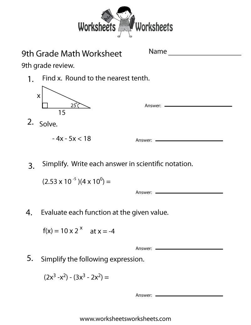 Worksheet 644447 Math Revision Worksheets GCSE maths revision – Maths Revision Worksheets