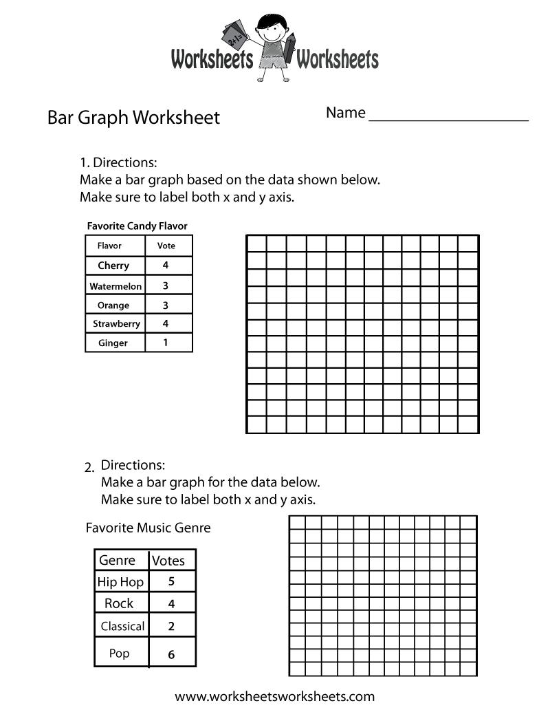Simple Bar Graph Worksheet Free Printable Educational Worksheet – 2nd Grade Bar Graph Worksheets